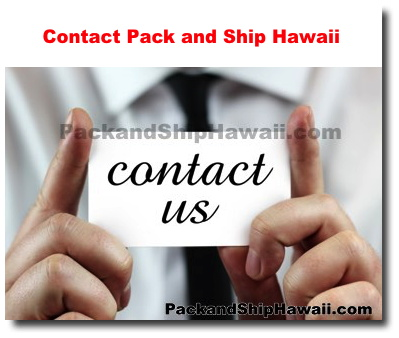 Contact Shipping to Honolulu | Shipping to Honolulu Hawaii