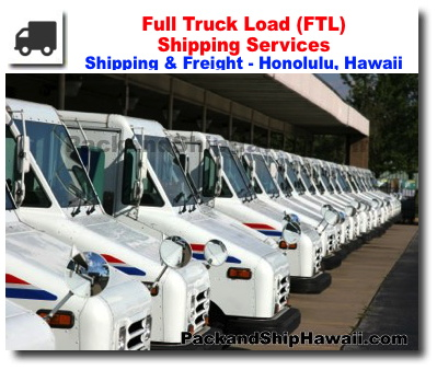 FTL - Full Truck Load Shipping Services - Pack and Ship  com